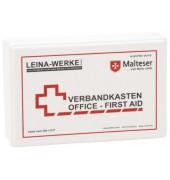 Betriebsverbandkasten Office-First Aid weiß gefüllt DIN 13157