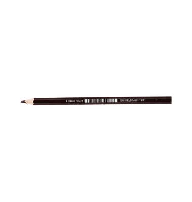 Buntstifte Supersticks Classic dunkelbraun 8 x 175mm