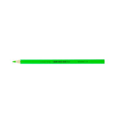 Buntstifte Supersticks Classic neongrün 8 x 175mm