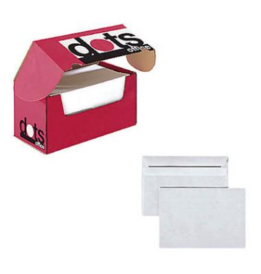 Briefumschläge C6 ohne Fenster selbstklebend 75g weiß 250 Stück