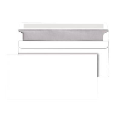 Briefumschläge Din Lang ohne Fenster selbstklebend 75g weiß 250 Stück
