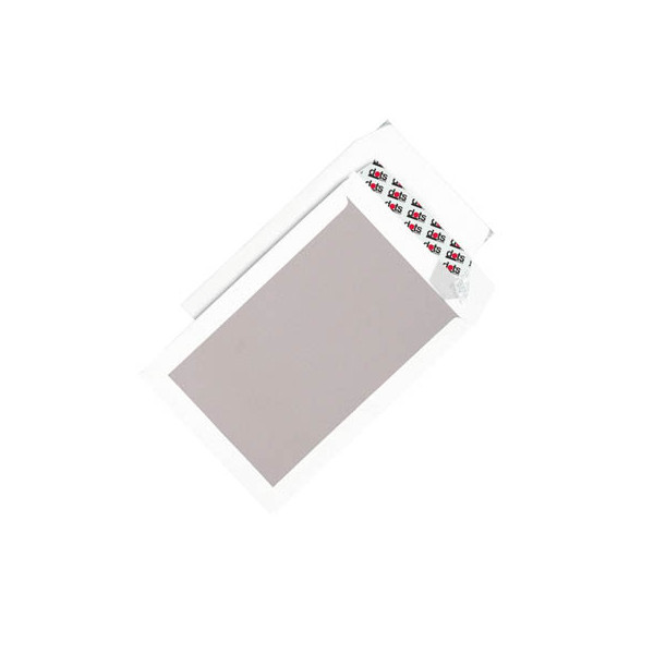 dots versandtaschen b4 ohne fenster mit pappr ckwand haftklebend 120g wei 50 st ck. Black Bedroom Furniture Sets. Home Design Ideas