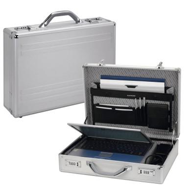 Notebook-Attachékoffer Kronos silber bis 17 Zoll