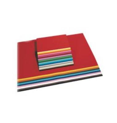 Tonzeichenpapier 50x70cm 130g zitronengelb 6712