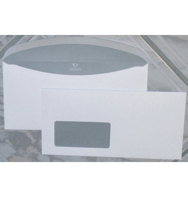 Kuvertierhüllen KuvertierStar Din Lang+ mit Fenster 114 x 229 mm 1000 Stück