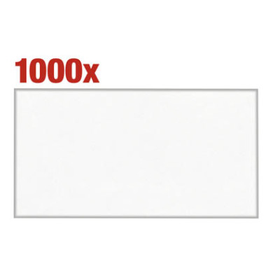 Kuvertierhüllen KuvertierStar C6/5 ohne Fenster nassklebend 75g weiß 1000 Stück