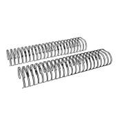 Drahtbinderücken Ring Wire 323800123 schwarz 2:1 23 Ringe auf A4 340 Blatt 38mm 20 Stück