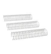 Drahtbinderücken Ring Wire 323800623 silber 2:1 23 Ringe auf A4 340 Blatt 38mm 20 Stück
