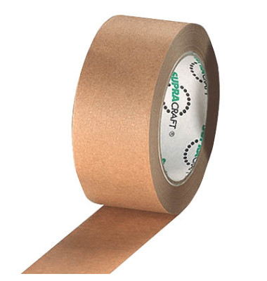 Packband SUPRACRAFT 50mm x 50m Kraftpapier 6 Rollen