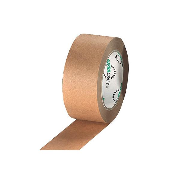 Supra packband supracraft 50mm x 50m kraftpapier 6 rollen for Schreibtisch 1m lang