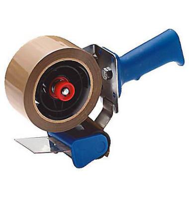 Packbandabroller 100.097, mit Bremse, für Packband bis 50mm x 66m