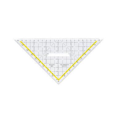 1650 / 2 TZ-Dreieck mit Griff Hypotenuse 22,5cm