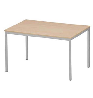 Schreibtisch 3118-195 buche rechteckig 120x80 cm (BxT)