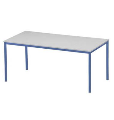 Schreibtisch 3119-497 grau rechteckig 160x80 cm (BxT)