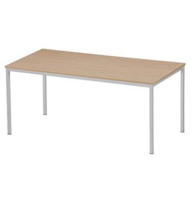 Schreibtisch 3119-195 buche rechteckig 160x80 cm (BxT)