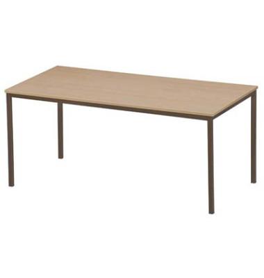Schreibtisch 3119-895 buche rechteckig 160x80 cm (BxT)