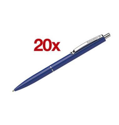 K15 blau Schreibfarbe blau Kugelschreiber 0,6mm 20 Stück
