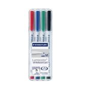 Boardmarker pen 4er Etui farbig farbig sortiert 1mm Rundspitze