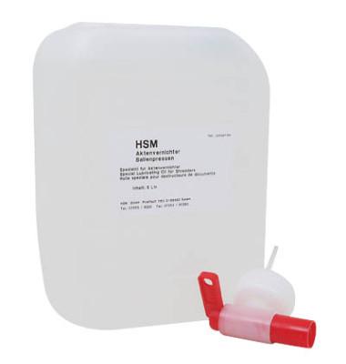 Spezialöl für Aktenvernichter 5,0 Liter