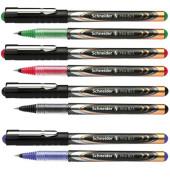Tintenroller XTRA 823 Schreibfarbe farbsortiert (4x schwarz, 3x blau, 2x rot, 1x grün)