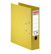 maX.file protect+ 10834356 gelb Ordner A4 80mm breit