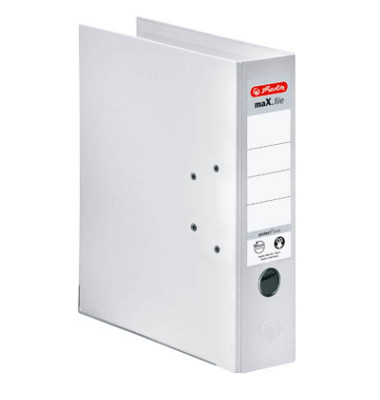 maX.file protect+ 10834364 weiß Ordner A4 80mm breit