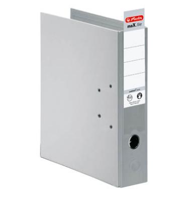 maX.file protect+ 10834372 grau Ordner A4 80mm breit