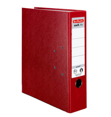 maX.file protect 5480306 rot Ordner A4 80mm breit