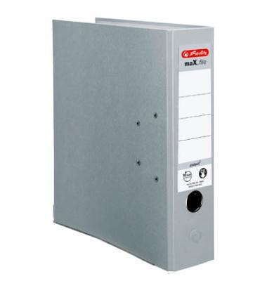 maX.file protect 5480900 grau Ordner A4 80mm breit