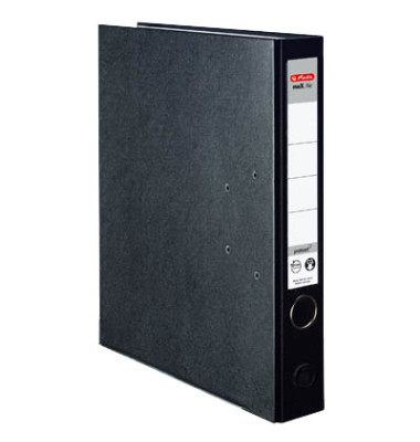 maX.file protect 5450804 schwarz Ordner A4 50mm schmal