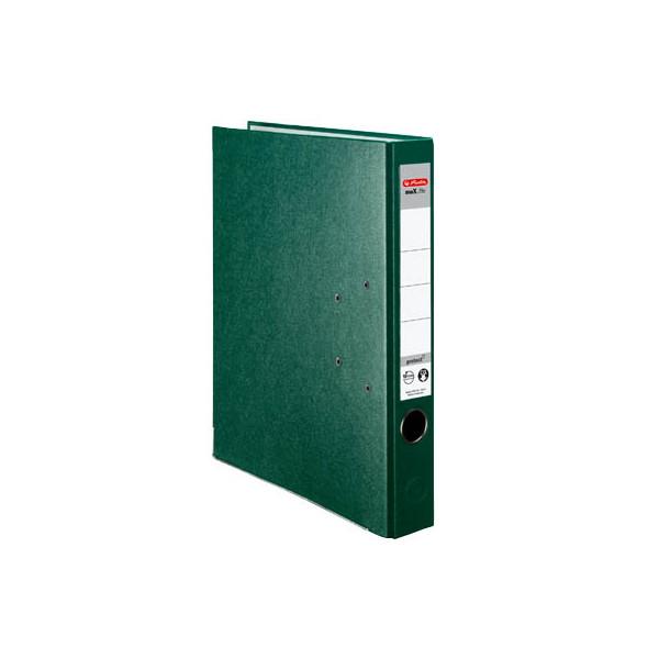 Herlitz protect 5450507 gr n ordner a4 50mm schmal for Schreibtisch lang schmal