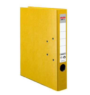 maX.file protect 5451307 gelb Ordner A4 50mm schmal