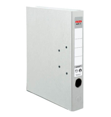 maX.file protect 5450705 weiß Ordner A4 50mm schmal