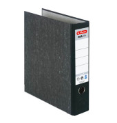 maX.file nature 5171806 Wolkenmarmor Ordner schwarz A4 80mm breit