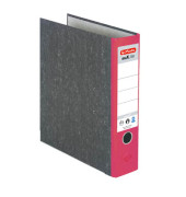 maX.file nature 5171301 Wolkenmarmor rot Ordner A4 80mm breit
