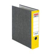 maX.file nature 5171103 Wolkenmarmor gelb Ordner A4 80mm breit