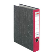 maX.file Nature 05141304 Wolkenmarmor rot Ordner A4 50mm schmal