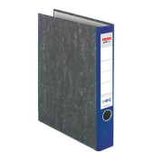 maX.file Nature 05141403 Wolkenmarmor blau Ordner A4 50mm schmal