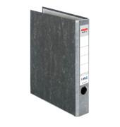 maX.file Nature 10841765 Wolkenmarmor grau Ordner A4 50mm schmal