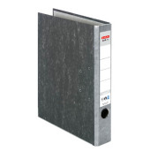 maX.file Nature 10841765 Wolkenmarmor grau Ordner A4 50mm schmal