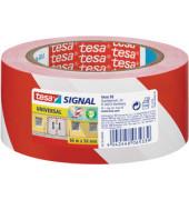 Signal-Packband Universal 58134 50mm x 66m rot/weiß PP