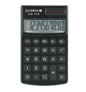 Taschenrechner LCD-1110 Solar-/Batterie LCD-Display schwarz 1-zeilig 10-stellig