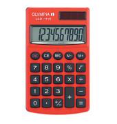 Taschenrechner LCD-1110 Solar-/Batterie LCD-Display rot 1-zeilig 10-stellig