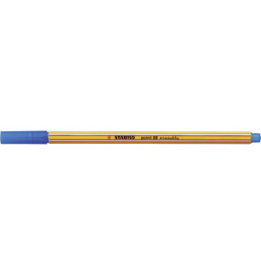 Fineliner point 88 erasable bl