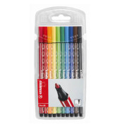 Fasermaler Pen 68 Etui 10 Farben