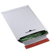 Versandtasche 245x345 mm A4+ ohne Fenster Vollpappe weiß 20 Stück
