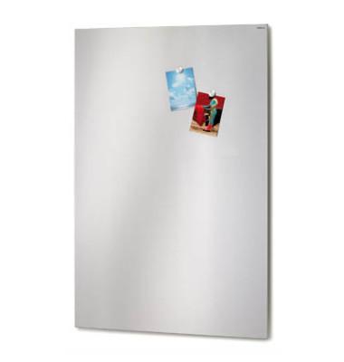 Magnettafel 66745, 115x75cm, Edelstahl, silber