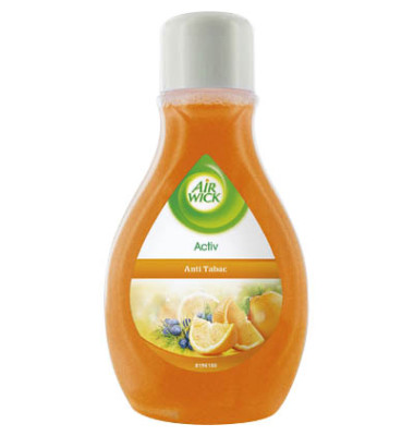 Lufterfrischer 0221612 Activ Anti-Tabac Orange & Zeder 375 ml