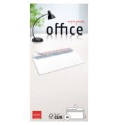 Briefumschläge Office Din Lang+ ohne Fenster haftklebend 80g hochweiß 50 Stück