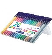 Fasermaler Triplus Color 20er Box